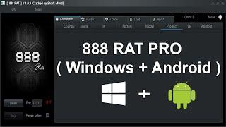 888 RAT Pro For Windows + Android v1.0.9 Cracked Free Download