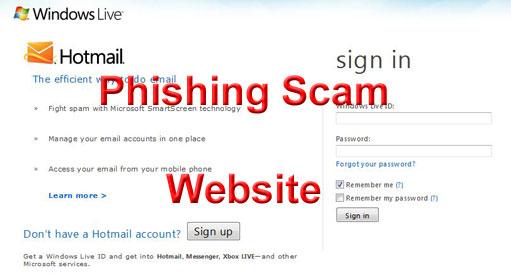 Hotmail Phishing
